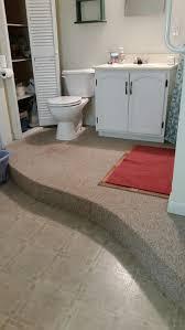 Best Flooring For Basement Bathroom by Bathroom Floor Covering Ideas Wood Floors