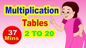 multiplication tables for children ecouter et télécharger multiplication tables 2 to 10