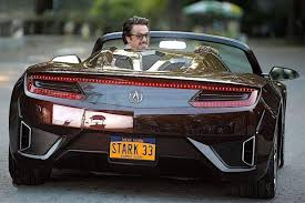 acura supercar avengers the prop gallery stark 33 licence plate