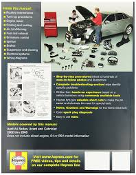 chilton manual 2001 hyundai amazon com haynes repair manuals audi a4 02 08 excludes diesel