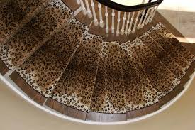 Leopard Runner Rug Choosing A Stair Runner Some Inspiration And Lessons Learned