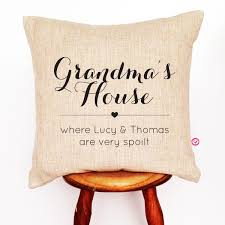 personalised linen cushion cover discover more ideas about