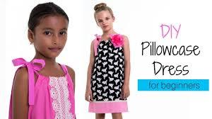 free girls dress pattern pillowcase dress youtube