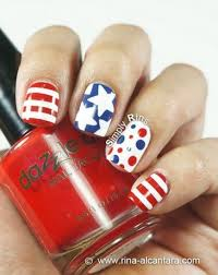 517 best 4th of july nail art images on pinterest holiday nails
