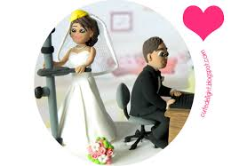 wedding cake topper laptop cake topper engineer cake topper
