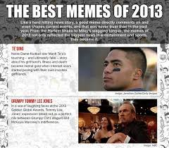 Biggest Internet Memes - infographic the best internet memes of 2013 designtaxi com