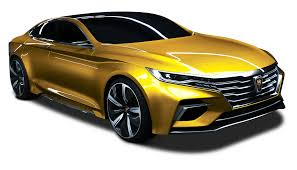 golden cars roewe vision r yellow gold transparent png stickpng