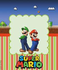 super mario bros party free printable candy bar labels