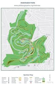 Isu Map Riverview Park Trail Map By Pittsburgh Parks Conservancy Issuu