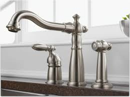 Kitchen Sink Faucet With Pull Out Spray by White Delta Kitchen Sink Faucets Deck Mount Single Handle Pull