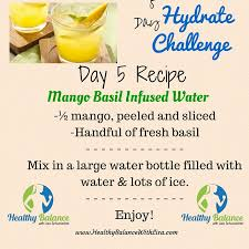 Challenge Filled With Water 5 Day Hydrate Challenge Healthy Balance With