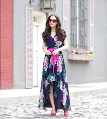 eliza j floral print high low dressed up deniz