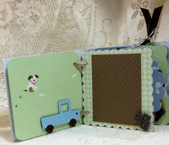baby boy photo album baby boy mini album cricut artiste cartridge