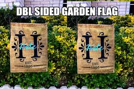 rts sided garden flag sublimation hale bound