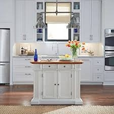 images of kitchen island amazon com home styles 5002 94 kitchen island white and distressed