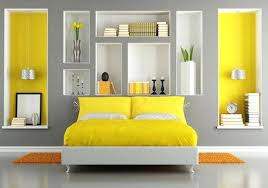 Yellow Room Decor Grey Yellow Bedroom A Grey And Yellow Bedroom For Grey Bedroom