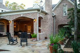 patio drainage problem new outdoor living room solves drainage problem texas custom patios