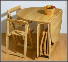 Folding Table And Chair Sets Wonderful Wood Folding Chairs And Table Set Chairs Home Design
