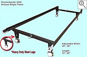 amazon com antique single custom metal bed frame clamp style