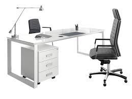 bureau en verre blanc bureaux de direction verre executive i bureau