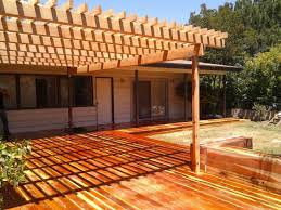 building a ground level deck home u0026 gardens geek