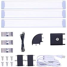 led under cabinet lighting kit led under cabinet lighting kit dimmable touch sensor closet with