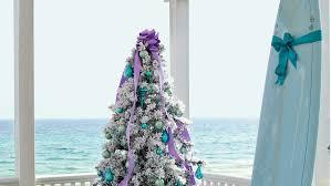 How To Put Lights On A Real Christmas Tree Coastal Christmas Trees Coastal Living