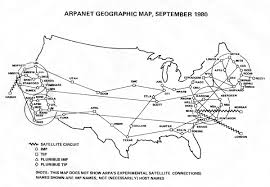 Cmu Map Arpanet Technical Information Geographic Maps