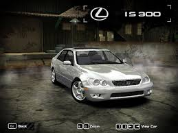custom lexus is300 need for speed most wanted lexus is300 nfscars