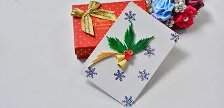 make a christmas card how to make a quilling paper christmas card fashion and