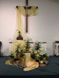 easter religious decorations image result for easter church decorations church