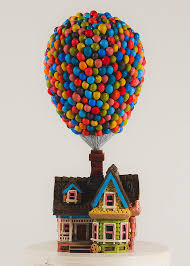 up cake topper pixar s up house cake topper disney fan e palloncini