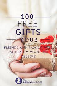 100 free gifts your friends and family will actually want to