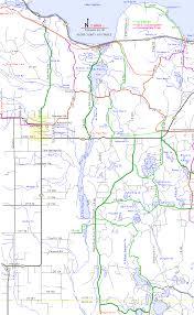 Delta Interactive Route Map by Atv Orv Ohv Utv Routes Alger County Munising Autrain Michigan