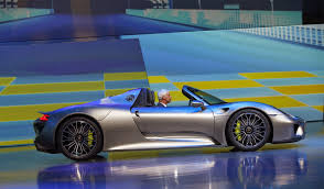 electric porsche 918 high wheels porsche 918 spyder