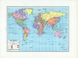 World Atlas Maps by Donald Trump America First Parodies Around The World Time Com