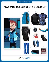 halloween fleece dress like maximus renegade star soldier costume halloween and