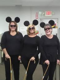 3 Blind Mice Costume Halloween At The Factory Wallside Employees Compete In Costume