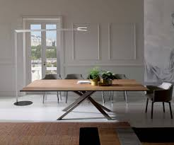 Kleiner Esszimmertisch Zum Ausziehen Ideen Ozzio 4x4 Eckiger Esstisch Zum Ausziehen Mit Holzplatte