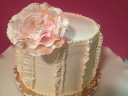 Shabby Chic Baby Shower Cakes by Paige Reese Designer Bakeshop Shabby Chic Baby Shower Cake
