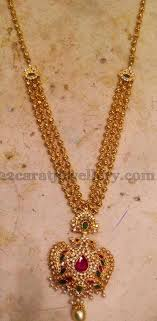 long chain locket necklace images Simple long chain with locket jewellery designs gold long chain jpg