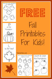 thanksgiving fall activities free fall printable activity