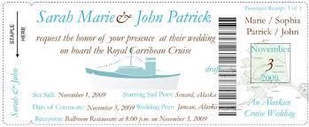 Cruise Wedding Invitations Example Of Wedding Invitation Program U2013 Wedding Invitation Ideas