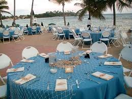 beach table decorations for weddings beach themed table