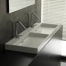 ws bath collections urban 120 wall mounted vessel bathroom sink