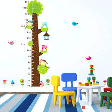 wall decor wall interior 46 bedroom wall art paintings and wall 143 wall decor innovative height chart wall decals naughty monkey the owl trees cartoon decor stickers for kids bedroom for nursery playroom removable