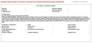 Machine Operator Job Description For Resume by Rotary Screen Printing Machine Operator Job Title Docs