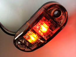 red led marker lights free shipping 10pcs 12v 30v dc 2 led clearance lights side marker