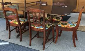 Mahogany Drop Leaf Table Mahogany Drop Leaf Table With 6 Chairs Stock Swap Furniture