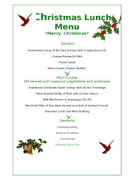 christmas menu ideas christmas dinner menu templates free download u2013 christmas fun zone